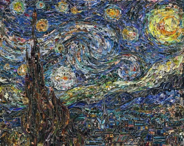 Starry Night, after Van Gogh