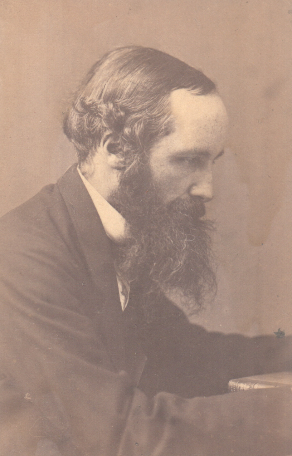 Portrait of James Clerk Maxwell