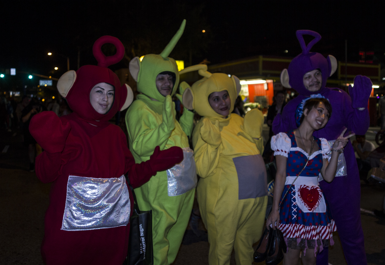 Even the Teletubbies were there!